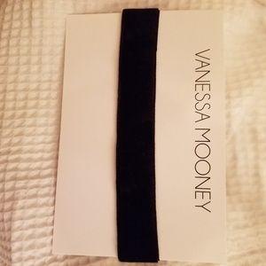 Vanessa Mooney black, faux velvet choker.